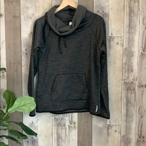 Reebok fleece lined cowl neck sweatshirt